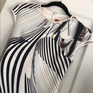 Clover Canyon Black and white dress! Size S.